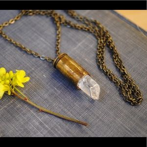 Jewelry - Crystal Bullet Necklace